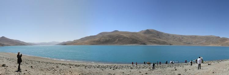 Panorama Lac Yamdroktso