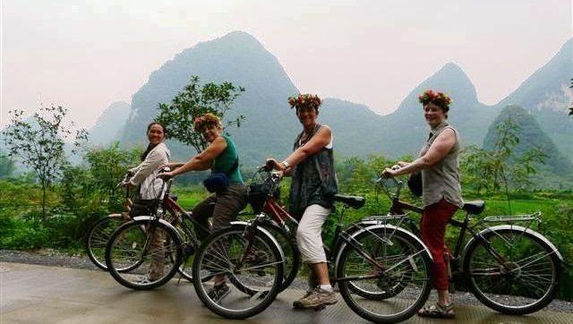 Yangshuo à vélo