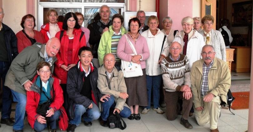 Groupe français au Yunnan en 2010