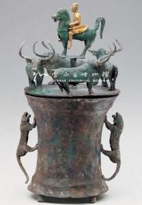 Réservoir en bronze de Yunnan