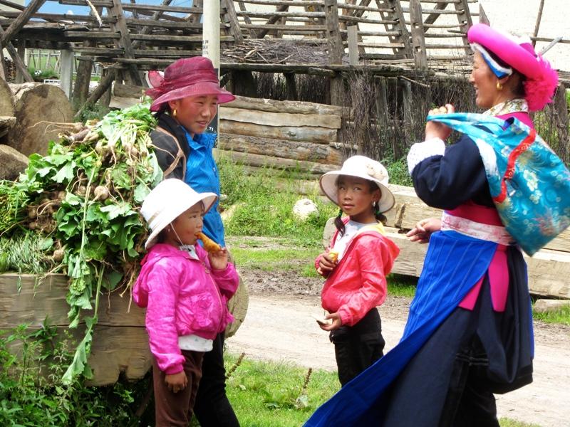 Femmes tibetains