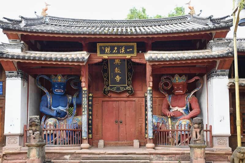 Shaxi-temple