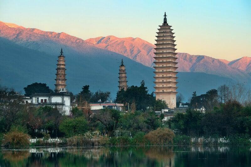 Trois-pagode-Dali-Yunnan