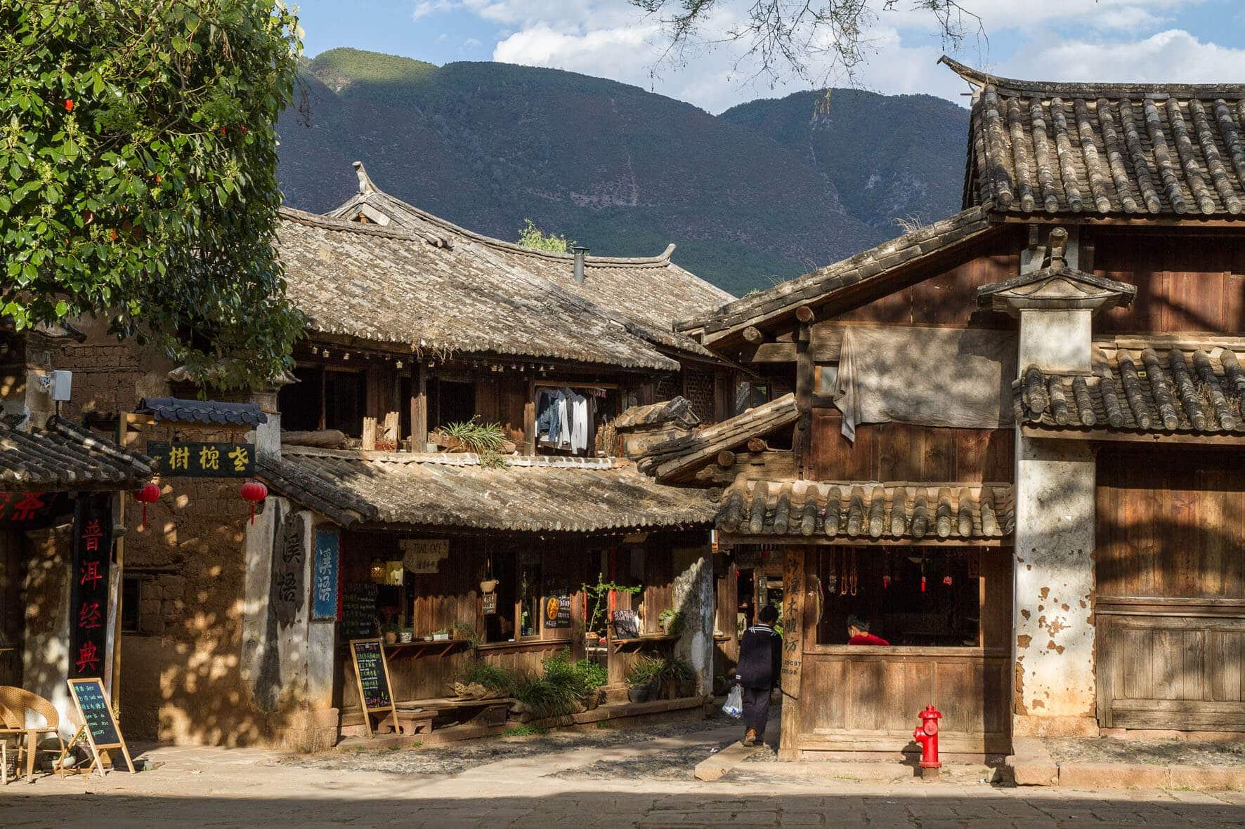 Village Shaxi Yunnan Chine