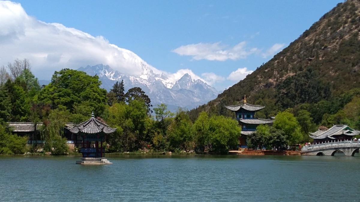 Parc du dragon noire Lijiang