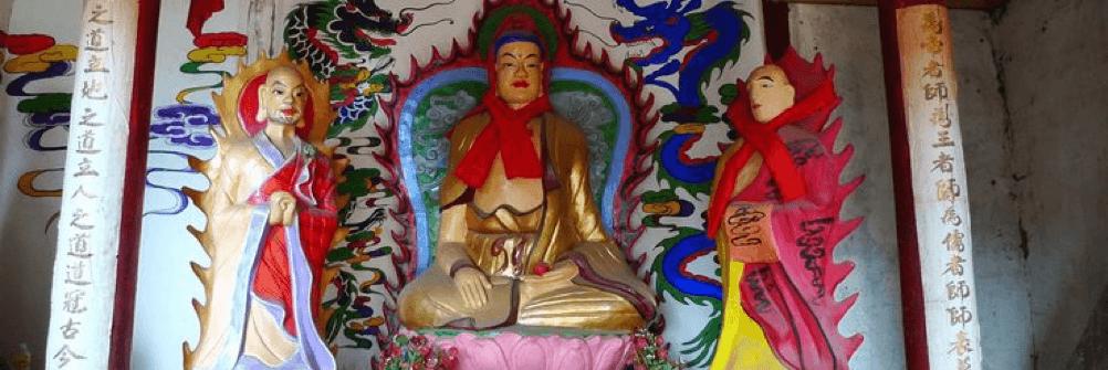 Buddha Sakyamuni temple Shaxi Yunnan