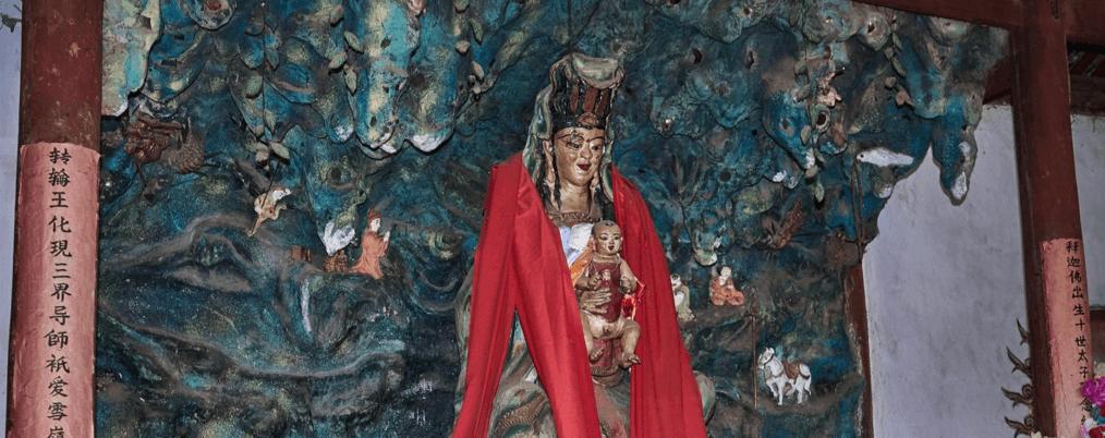 Déesse Guanyin temple Shaxi Yunnan