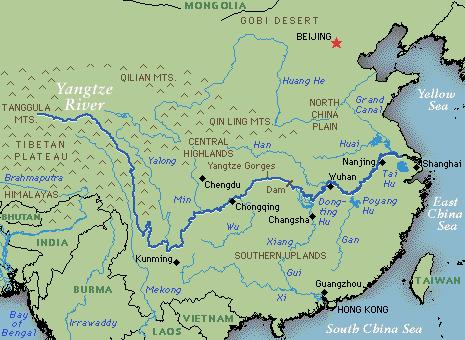 Geographie cielyunnan