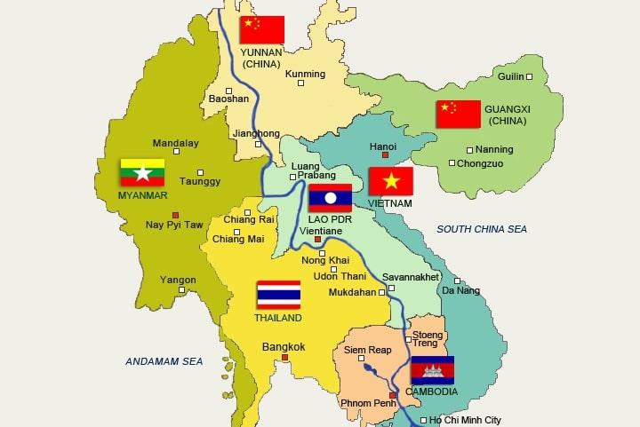Le Mékong voyage yunnan