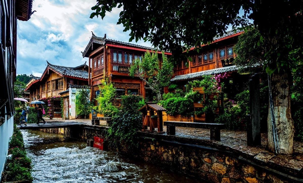 Lijiang ciel yunnan