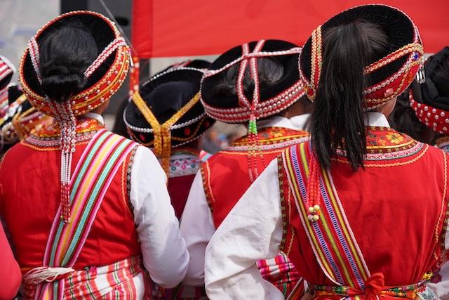 fetes des minorites Yunnan