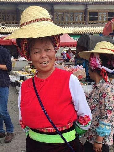 Femme Bai Xizhou Dali Chine
