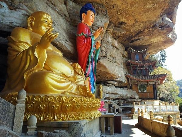 Grottes Shibaoshan Shaxi Yunnan