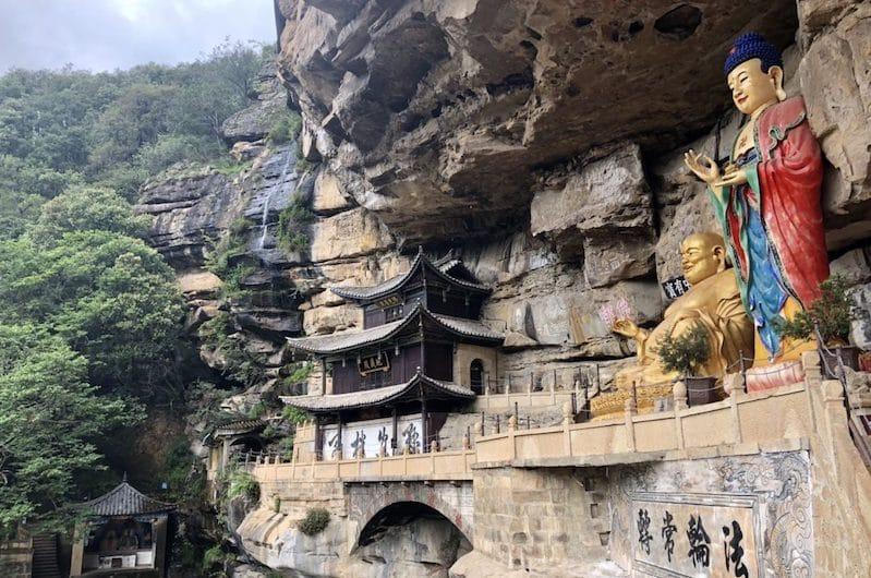 Les grottes de Shibaoshan