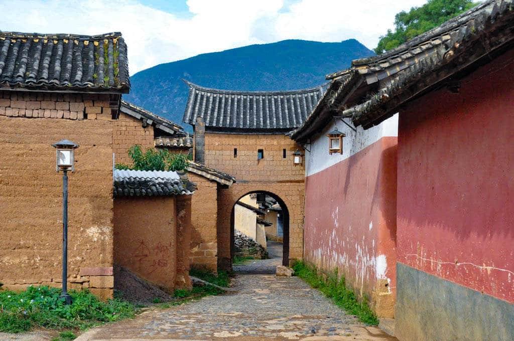 Porte du village Shaxi
