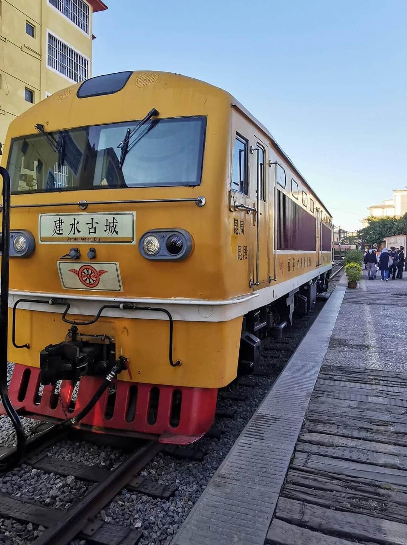 Train de Jianshui à Tuanshan