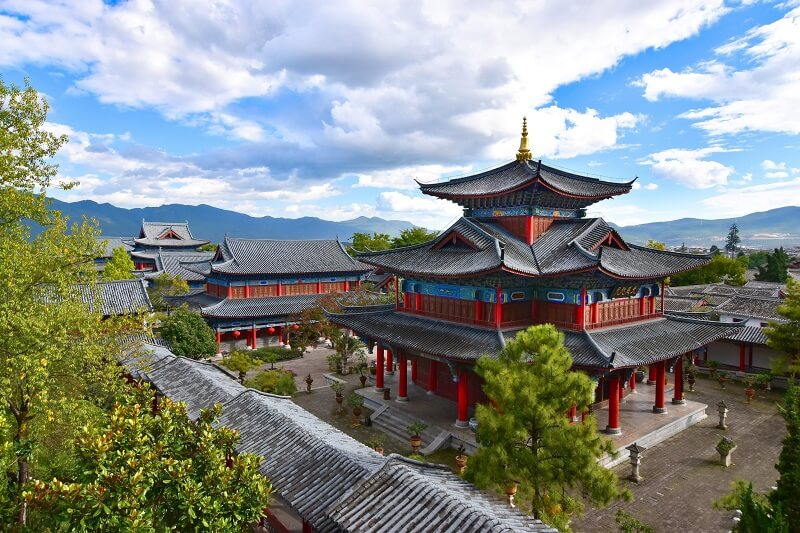 Residence Mu de la vieille ville de Lijiang