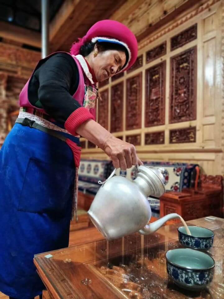 Thé au beurre de Yak salé de Shangri-la